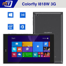 Colorful i818W Quad Core Tablets 8 Inch IPS Windows Tablet PC Colorfly i818W 3G Tablet Intel Z3735F 2GB+32GB Camera 5MP GPS Wifi