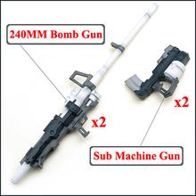 New Magictoys para Bandai MG 1/100 Gundam Modelo weapon Arma Set free shipping Containing box