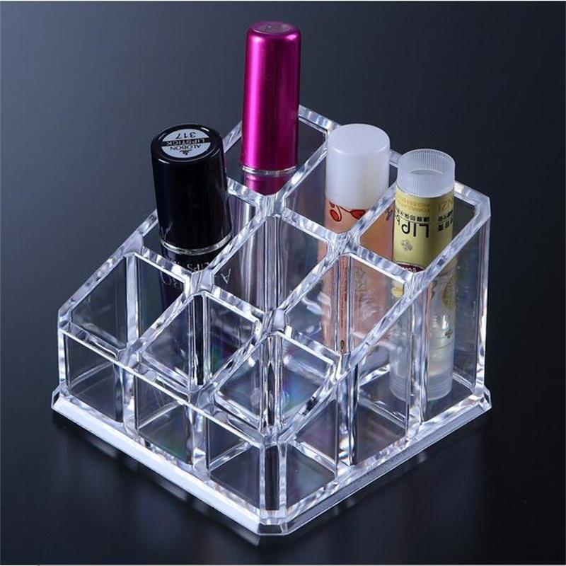 The New Transparent Polystyrenes Plastic Cosmetic Storage Box Crystal Jewelry Box Set(China (Mainland))