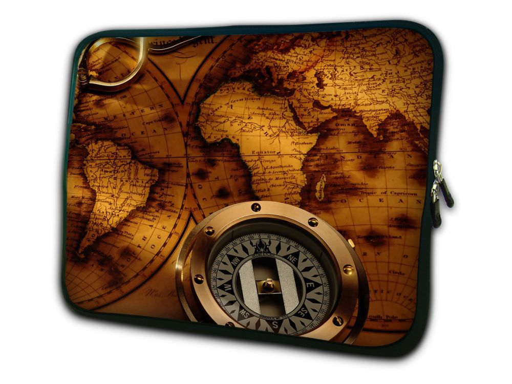 """Compass 10"""" Laptop Sleeve Bag Case Cover For 10.1"""" ASUS Eee Pad Transformer Prime TF201 Netbook(China (Mainland))"""