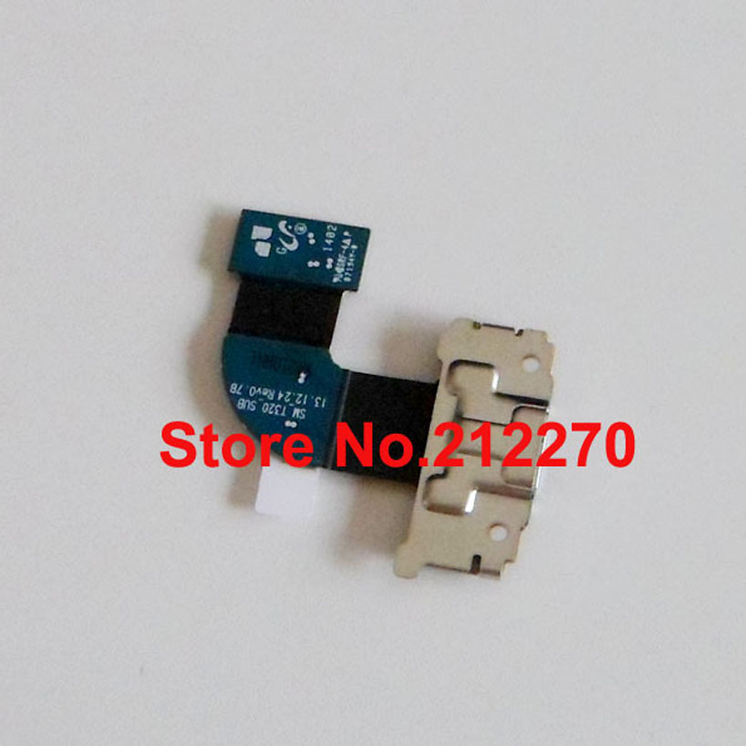 50pcs/lot New Charger Charging Port Dock USB Connector Flex Cable Ribbon For Samsung Galaxy Tab Pro 8.4 T320 Wholesale(China (Mainland))