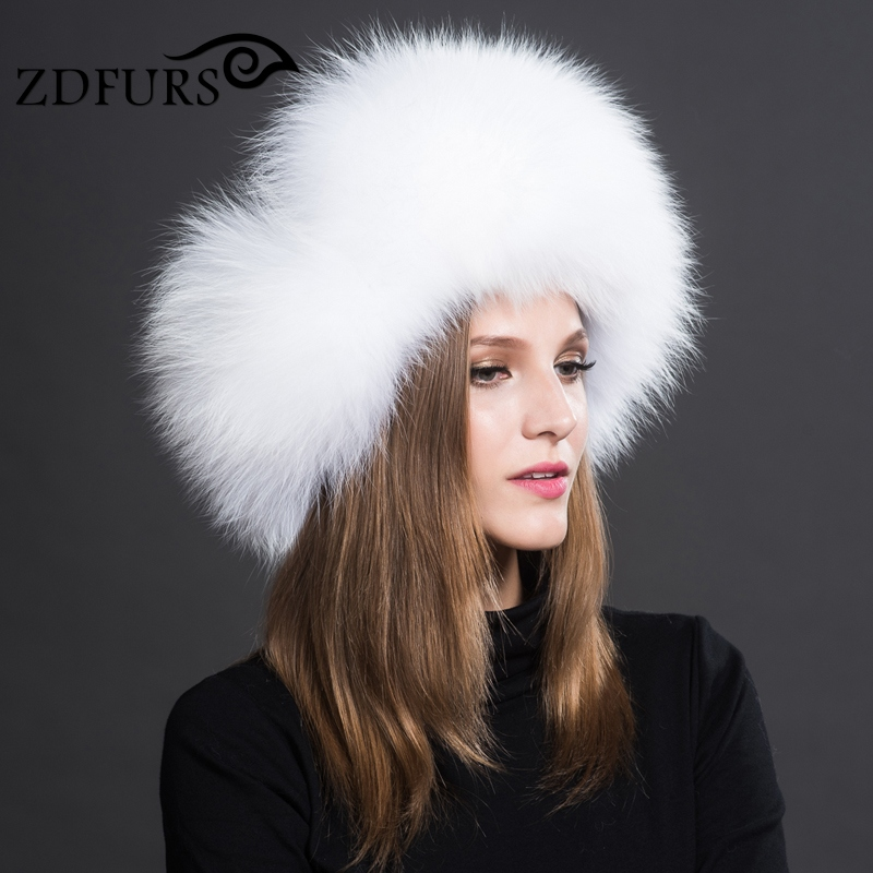 2016 Genuine Fox Fur Hats Women Warm Fur Bomber Hats for Russian Winter Leifeng Caps 8 Color in Stock(China (Mainland))
