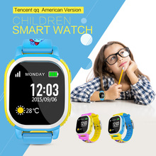 Buy Tencent QQ American Edition Children Smart Watch GPS Watch Kids Smartwatch Smart Baby Watch Cam SIM LBS WiFi SOS Android IOS for $68.88 in AliExpress store