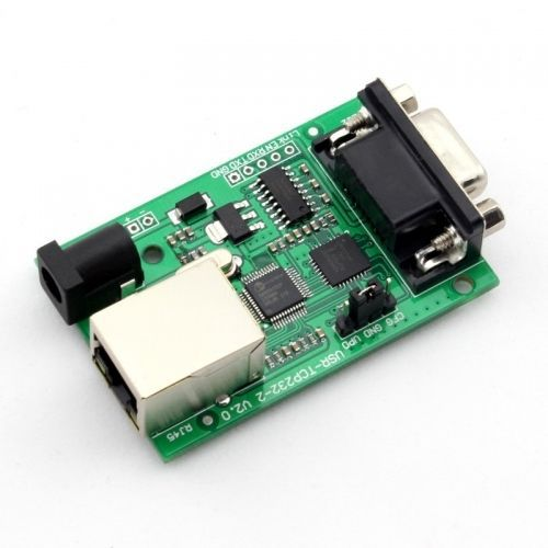 Q00222 1 Piece USR-TCP232-2 RS232 to Ethernet TCP/IP Converter Module(China (Mainland))