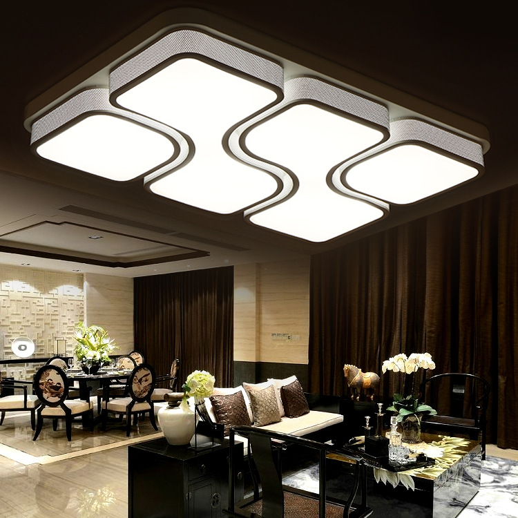 2016 Modern Led Ceiling Lights For Living Room Lustres De Teto Lampmodern Lighting Lamparas Indoor Lamps Lustre Para Sala 01(China (Mainland))