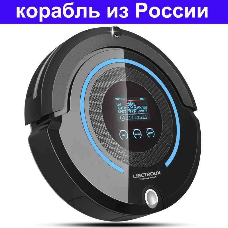 (Russia Warehouse) High-end Multifunction Robot Vacuum Cleaner A338(Sweep,Vacuum,Mop,Sterilize),Schedule,SelfCharge,virtual wall(China (Mainland))