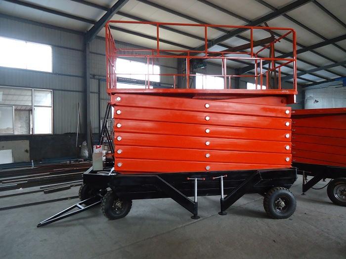 China Good Quality Mobile Scissor Lift Platform Max Height 20m(China (Mainland))