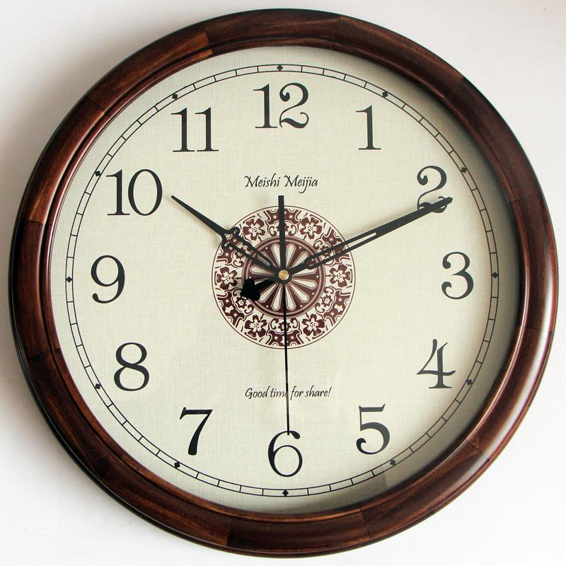 Wall clock living room modern room interior quartz vintage for Design wall clocks for living room