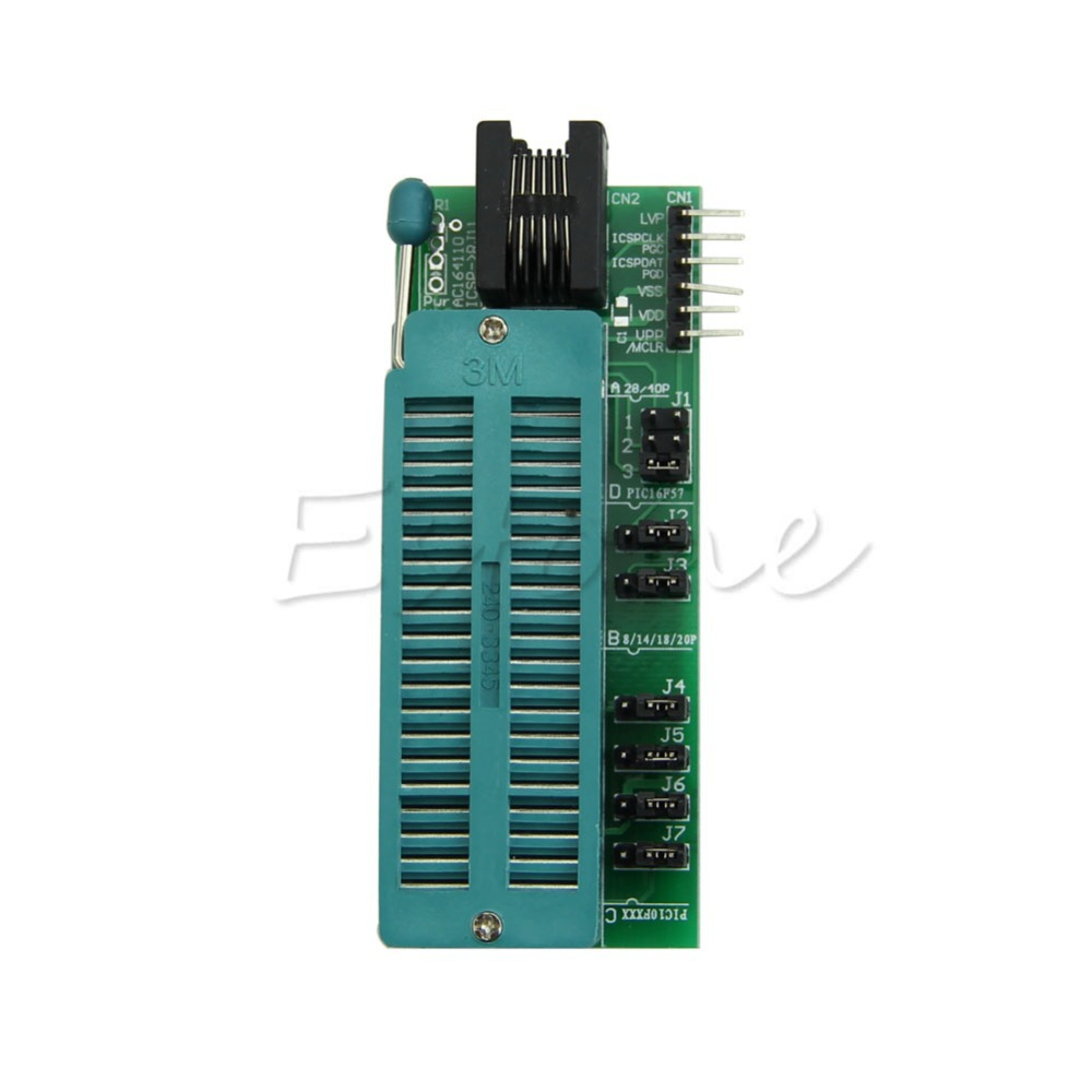 C18 PIC PICKit2 PICKIT3 Programming Adapter Easy Use Chip Universal Programmer Seat(China (Mainland))