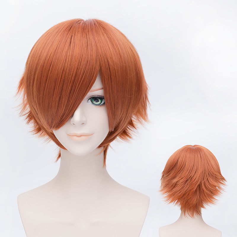 One piece Nami Cosplay wig costume Short synthetic hair<br><br>Aliexpress