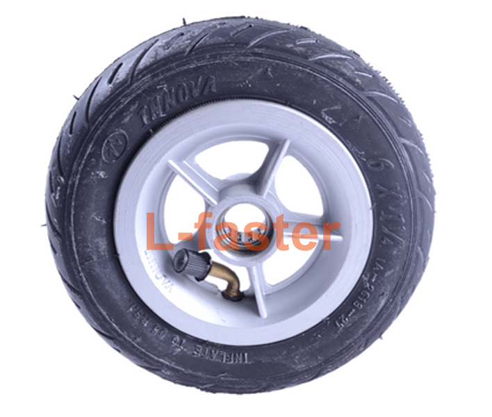 "150MM Scooter Inflation Wheel With Aluminium Alloy Hub 6"" Pneumatic Tyre With Inner Tube Electric Scooter 6 Inch Pneumatic Tire(China (Mainland))"