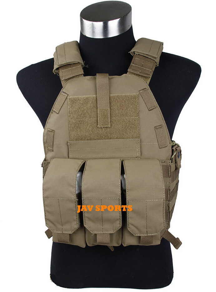 TMC Vest 94K M4 Pouch Plate Carrier Tactical Military Vest Matte Coyote Brown+Free shipping(SKU12050549)<br><br>Aliexpress