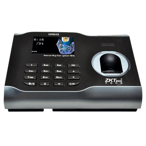 U160 3.0 inch Color Screen ZK Software Fingerprint Time Attendance with TCP/IP USB Communication Office Time Attendance Clock(China (Mainland))