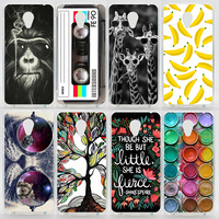 Case For Meizu M2 Mini (5.0 Inch) Colorful Printing Drawing Plastic Hard Cover for Meizu M2 Mini Fashion Transparent Phone Cases
