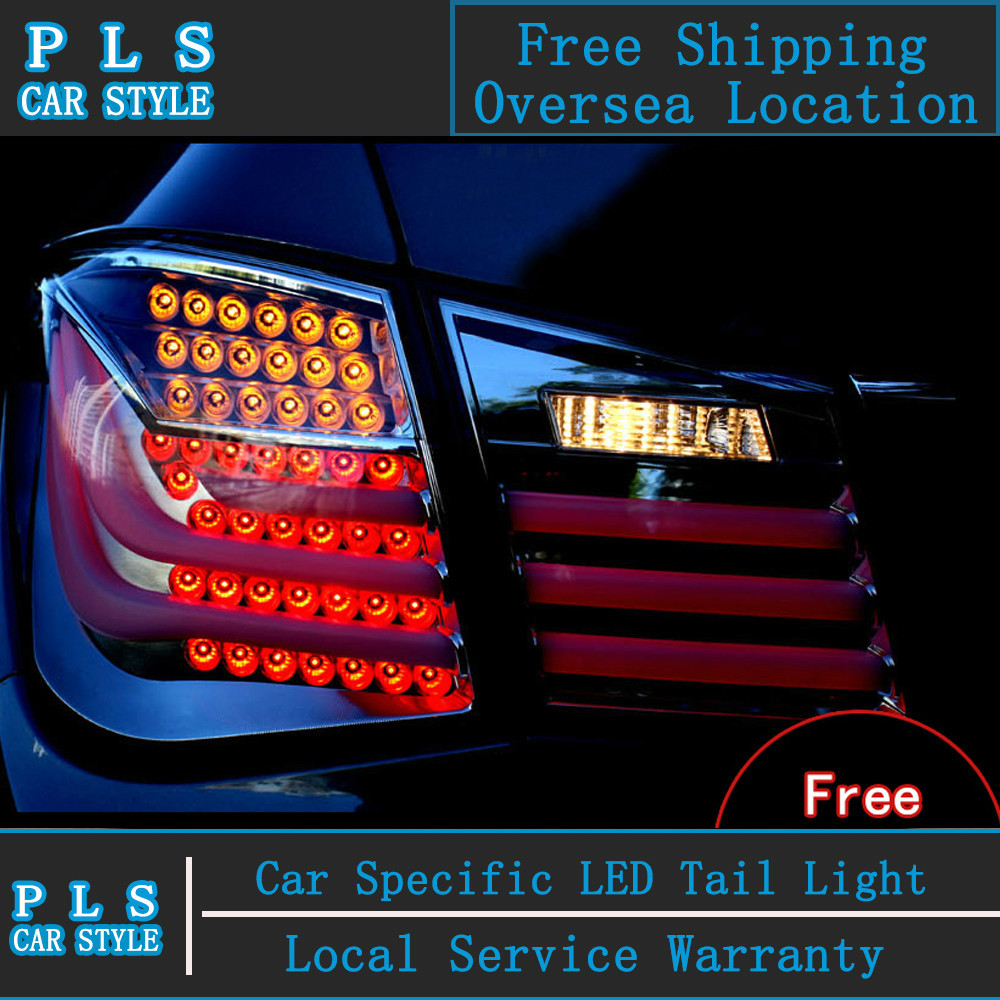 Car Styling Led Tail Lamp for Chevrolet Cruze 2009-2014 Automobiles tail lamp rear trunk light led drl+signal+reverse+brake(China (Mainland))