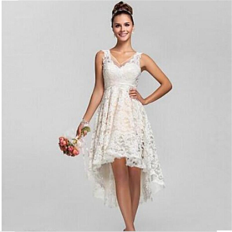 Cheap plus size summer dresses prom dresses 2018 for High low wedding dresses for sale