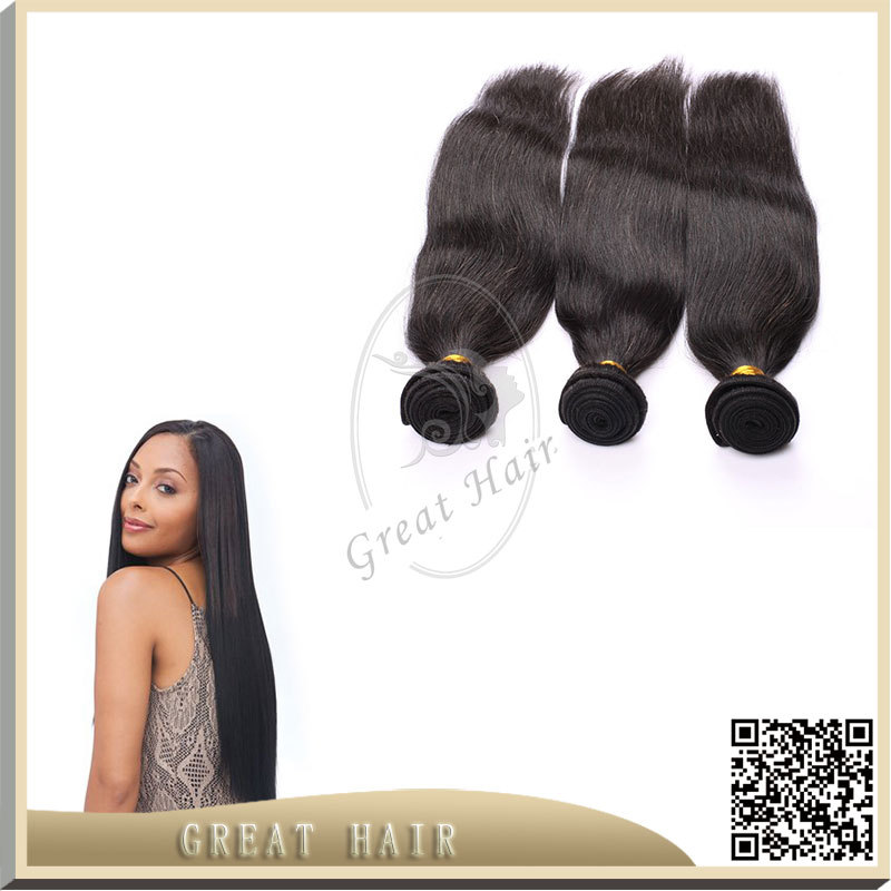 7A brizilian virgin hair Natural Color, Can Be Dye