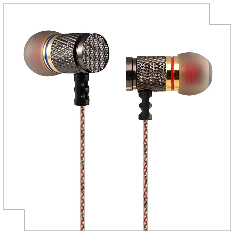 "KZ - ED2 professional in-ear headphones ""Metal heavy bass sound quality Music headphones(China (Mainland))"