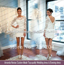 2013 Sexy short wedding dresses NOVIAS-01(China (Mainland))