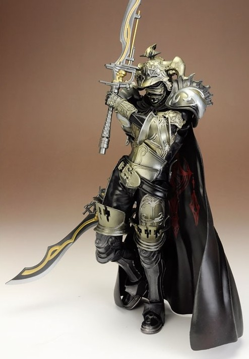 Play Arts Kai Final Fantasy Figure 12 Final Fantasy XII Gabranth Figure PA 27cm PVC Action Figure Doll Toys Kids Gift(China (Mainland))