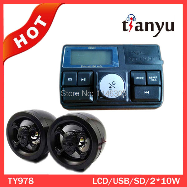 Best selling motorcycle anti-theft MP3 alarm system(China (Mainland))