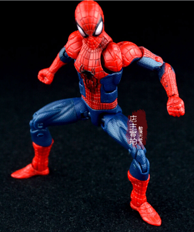 Hot Spider man PVC action figure spiderman Avengers model multi joint movable doll Collection Toy Mechanical Anime Toys(China (Mainland))