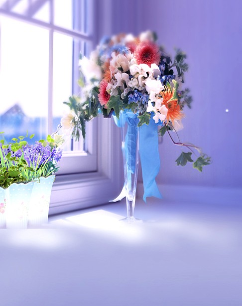 New arrival Background fundo Glass vase with flowers 600CM*300CM width backgrounds LK 2214<br><br>Aliexpress