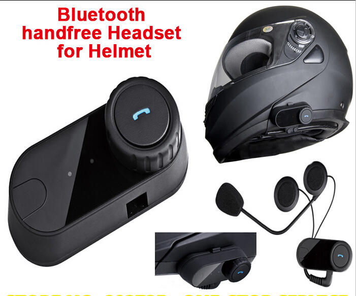 Waterproof BT Motorcycle Helmet Bluetooth Headset Motor For Phone/Music/MP3(China (Mainland))