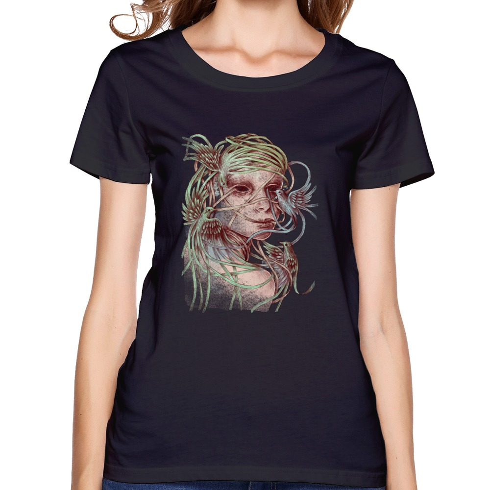Short sleeve beautiful creatures women t shirt 2015 design for Create t shirts to sell