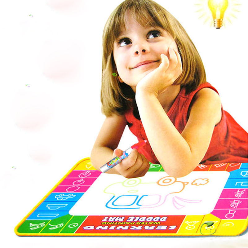 Magic Pen Water Writing Painting Drawing Doodle Aquadoodle Mat Board Toy Gift(China (Mainland))