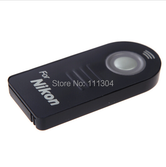 free shipping ML L3 Remote Control For Nikon D7000 D5100 D5000 D3000 D90 D70 D60 D40