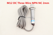 Buy 5Pcs M12 DC Three Wire NPN NC 2mm distance measuring Inductive proximity switch sensor LJ12A3-2-Z/AX for $16.15 in AliExpress store