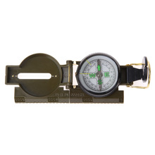 Buy Portable Army Green Folding Lens Compass American Military Multifunction Compass Boat Compass Dashboard Dash Mount Outdoor tools for $1.84 in AliExpress store