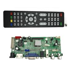 Car monitoring LCD driver board universal AV board HMDI/VGA/USB/2AV v59.AV2(China (Mainland))