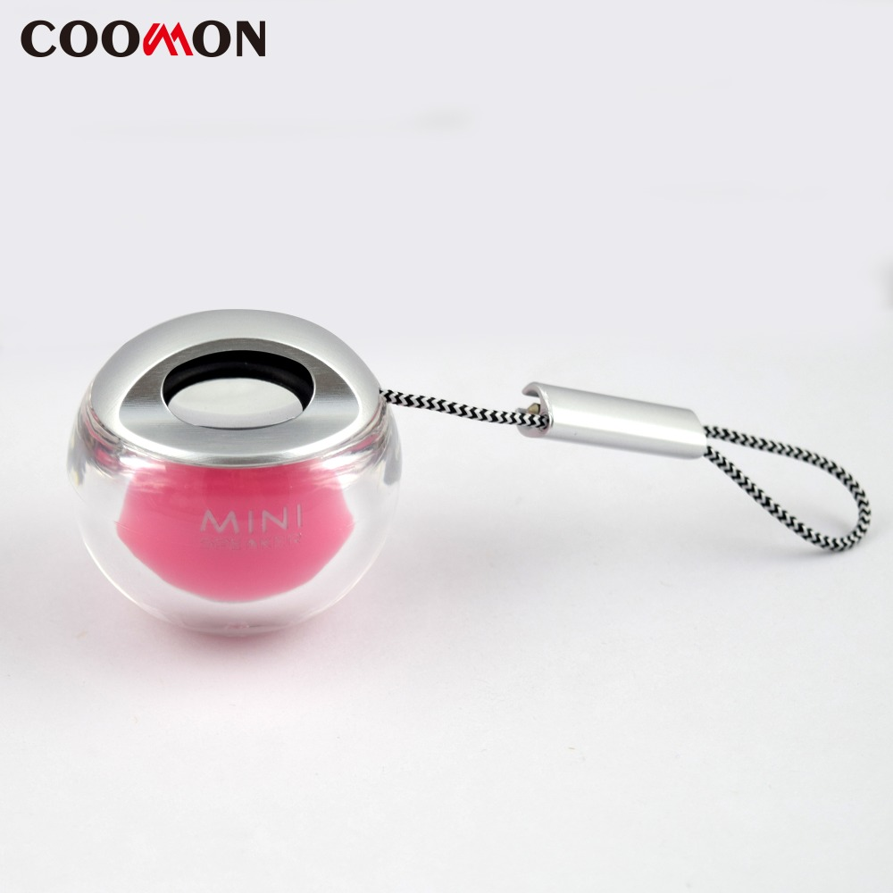 Speaker Cute Mini Portable Speaker Wireless Stereo Music Player Loudspeaker for Phone iphone Samung HTC(China (Mainland))