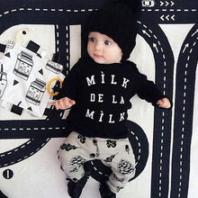 2015 Summer Children Boys Character Clothing Sets Short-Sleeve Cotton T-Shirt + Striped New Born Baby Boy Kids Clothes Set