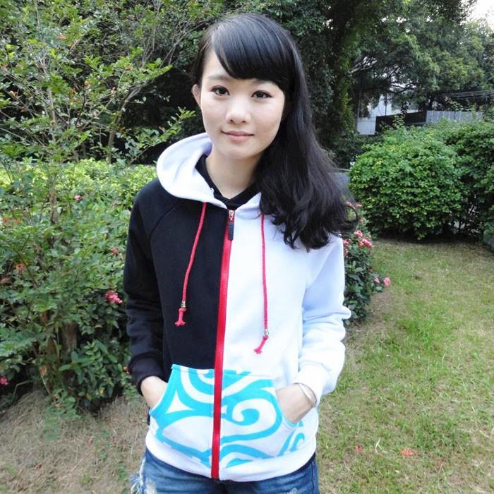 Free shipping autumn winter hoodie silver soul cosplay hoodie Gintama sakata hoodie sweater with fleece