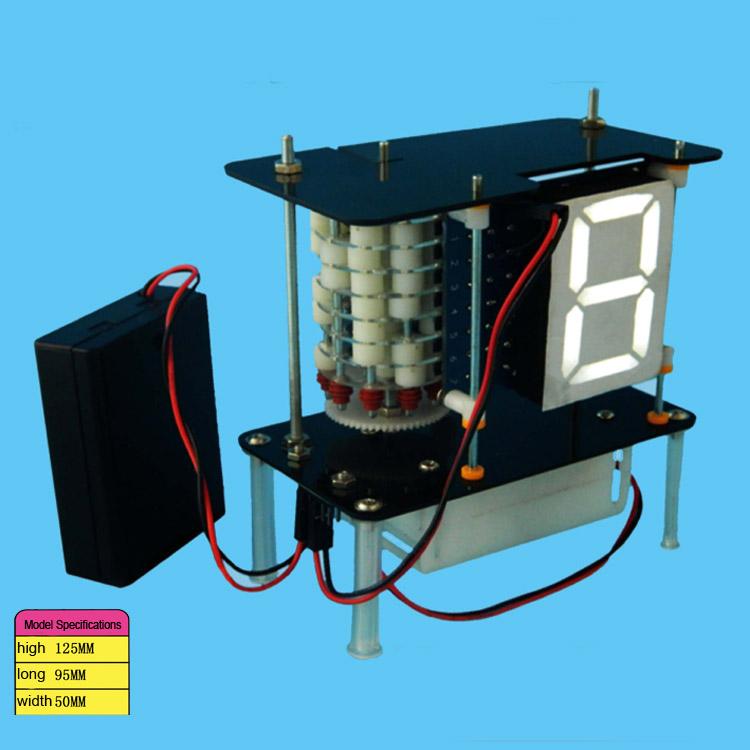 Digital coding Robot Remote control play DIY Robot Popular Science model of scientific experiments for schoolchildren(China (Mainland))