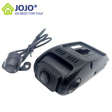 Jusky J108C Novatek NT96655 FHD 1920*1080P Car Dash Camera With Dual Lens Car DVR Video Recorder Camcorder With Optional GPS(China (Mainland))