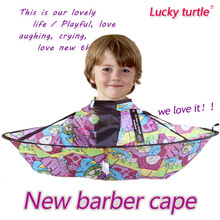 Good quality baby Children Kids Useful Hair Cutting Wash Hair Cape Gown Salon Hairdresser apron for barber shampoo Capes(China (Mainland))