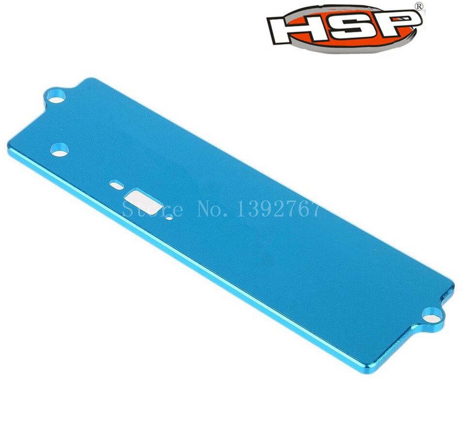 HSP Upgrade Parts122064 102064 02111 Alloy Battery Case Top Cover 1/10th Scale Models 4WD RC Car XSTR Power Himoto Red Cat(China (Mainland))