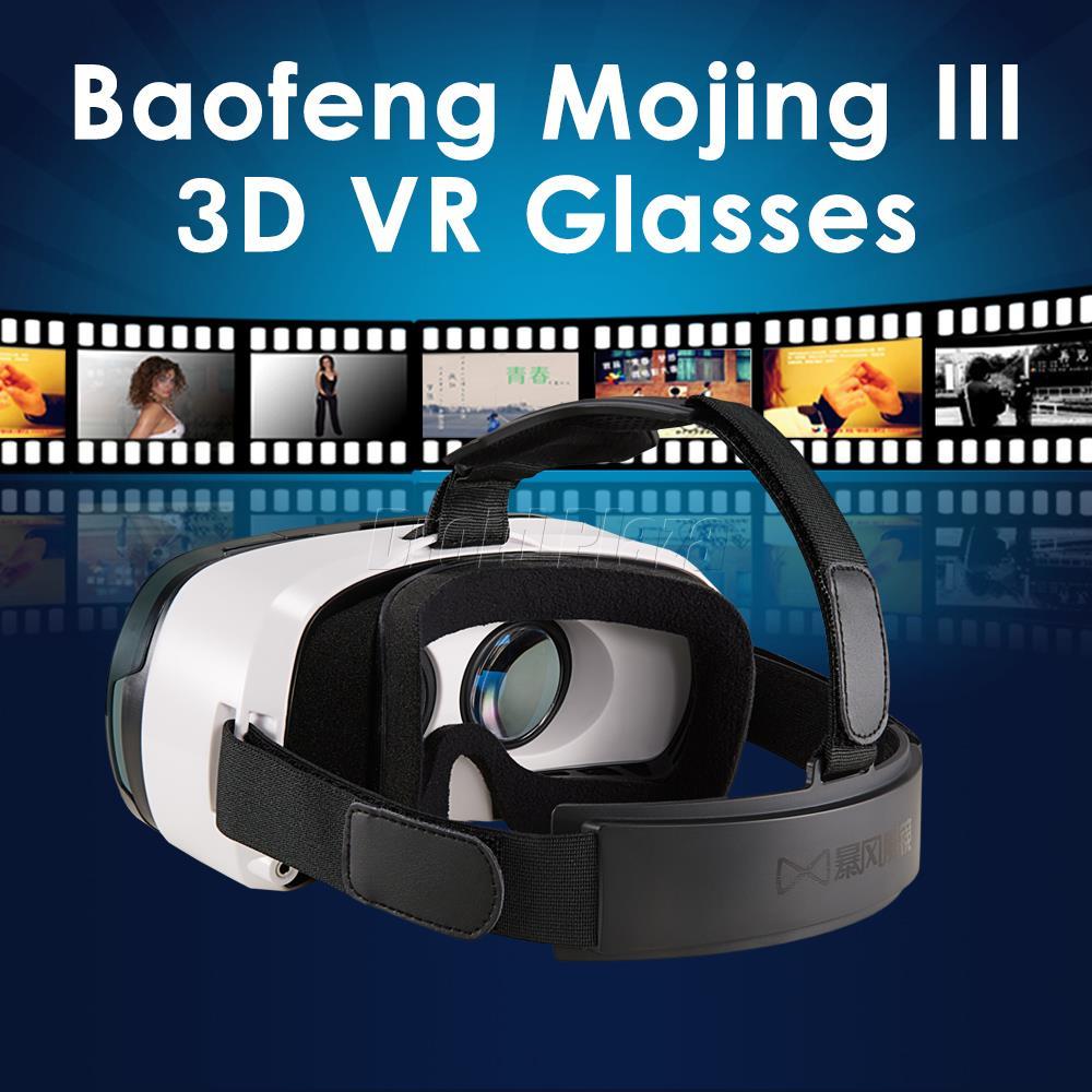"Baofeng Mojing III 3D Virtual Reality Glasses Headset Google Cardboard Like Oculus Rift DK2 for iPhone 6 Plus 4.7""~6"" Smartphone(China (Mainland))"