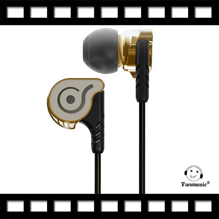 OSTRY KC06 High Fidelity Professional Quality Stereo Inner-Ear Earphones golden<br><br>Aliexpress