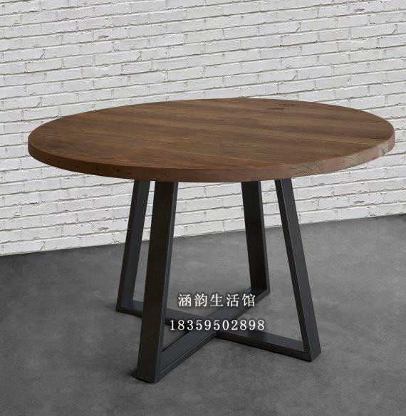 M s de 1000 ideas sobre mesas redondas de madera en for Mesas grandes