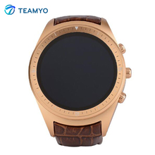 2016 New Teamyo K18 3G Smart Watch Bluetooth Smartwatch Support WCDMA & WiFi Network GPS 1.4″ Display Round Dial Messager Sync