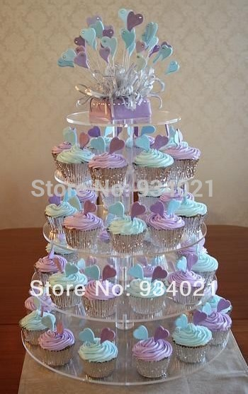 Acrylic Cup Cake Stands Maypole Wedding Cake Display Stand In Stands
