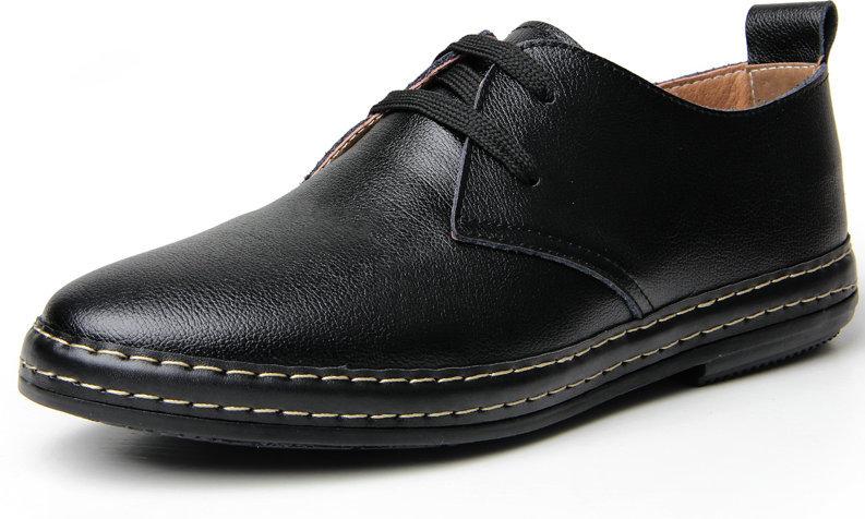 Гаджет  2015 New Fashion Men Shoes real Genuine Leather Shoes Men