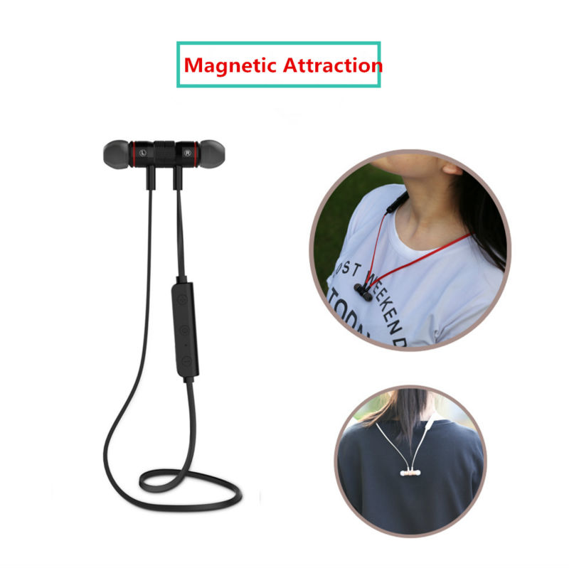 M9 Bluetooth 4.0 Wireless Sport Exercise Stereo Noise Reduction Earbuds Build-in Microphone Earphone For iphone PK Awei A920BL<br><br>Aliexpress