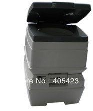 2014 new style 24L capacity new hiking WC portable toilet gift for parents and friends(China (Mainland))