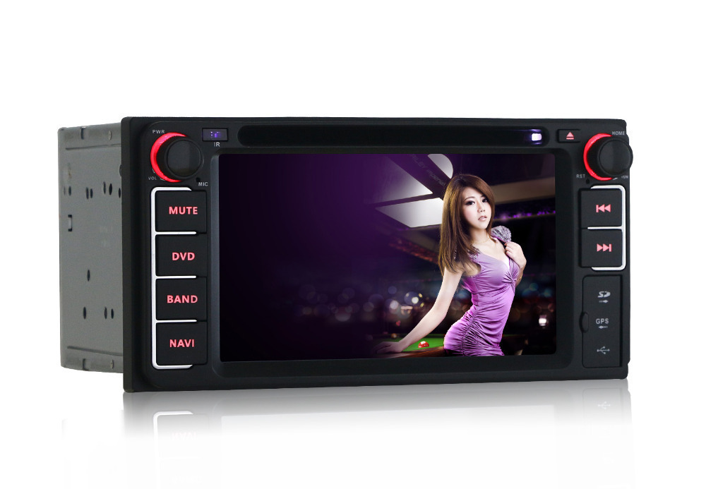 Quad Core Pure Android 4 4 Car DVD Player for Toyota Hilux Fortuner Innova old camry